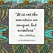 ArtQuote It is not the mountain